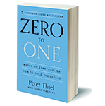 Zero to One book by Peter Thiel